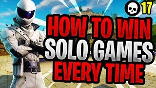 How To EASILY Win More Solos In Season 5! (Fortnite Battle Royale Solo Tips)