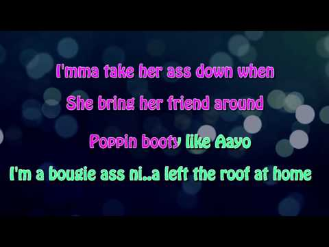 Chris Brown feat Tyga - Ayo (Karaoke / Instrumental)