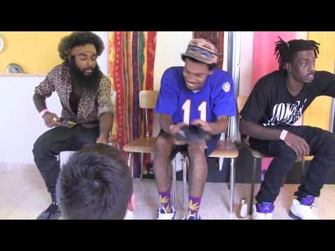 Flatbush Zombies interviewed by someone crazier than themselves.