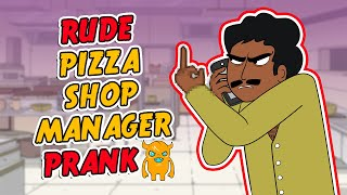 Super Rude Pizza Shop Prank - Ownage Pranks