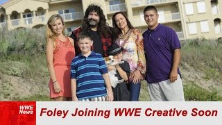 BACKSTAGE REPORT: Foley To Join WWE Creative Soon
