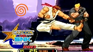 Capcom Vs. SNK Pro playthrough (Dreamcast)