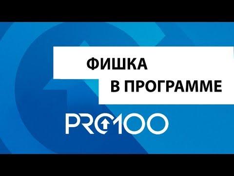Фишка в программе PRO100