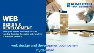 web design development service provider in hyderabad