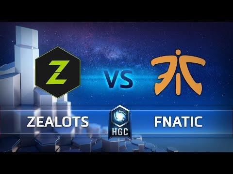 HGC EU - Phase 2 Part 2 - Game 1 – Zealots v Fnatic