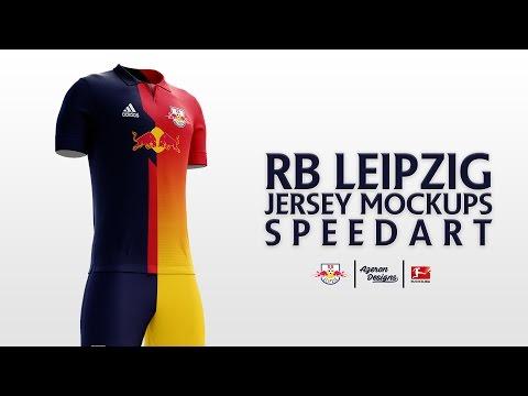RB Leipzig Jersey Mockups | Speed Art by Azeron Designs