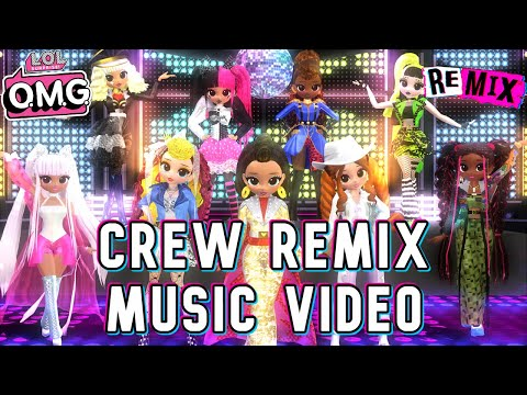 【Music Video】LOL Surprise OMG ☆ Crew Remix「All Remix Girls」