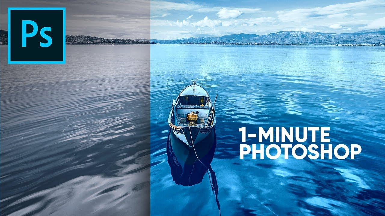 Create Magic with Solid Colors! | 1-Minute Photoshop