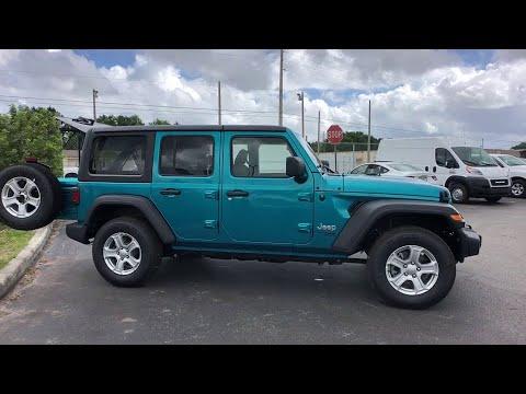2019 Jeep Wrangler Unlimited Orlando FL, Central Florida, Winter Park, Windermere, Clermont, FL K101