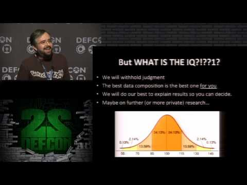 DEF CON 22 - Alex Pinto and Kyle Maxwell - Measuring the IQ of your Threat Intelligence feeds