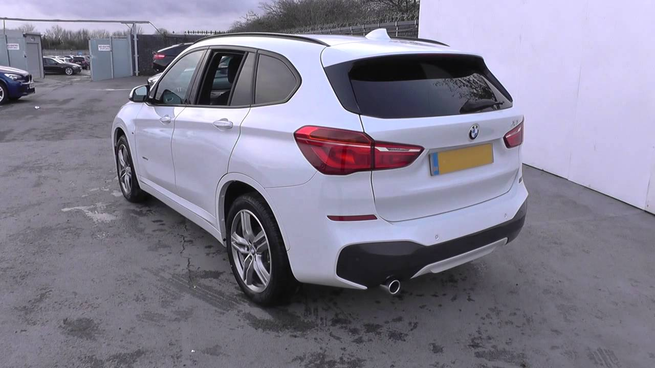 bmw x1 sdrive 18d m sport 5dr u14892 youtube. Black Bedroom Furniture Sets. Home Design Ideas