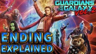 Guardians Of The Galaxy Vol 2 Ending Explained Breakdown Recap - Setup For Sequel Vol 3?