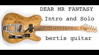 Traffic Lesson - Dear Mr Fantasy (Intro & Guitar Solo)