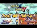Pokemon X & Y Wifi Battle #7 (No Tiers) 2vs2 Multi Battle [1080p]