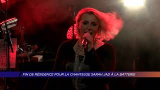 Yvelines   Captation de fin de résidence pour la chanteuse Sarah Jad