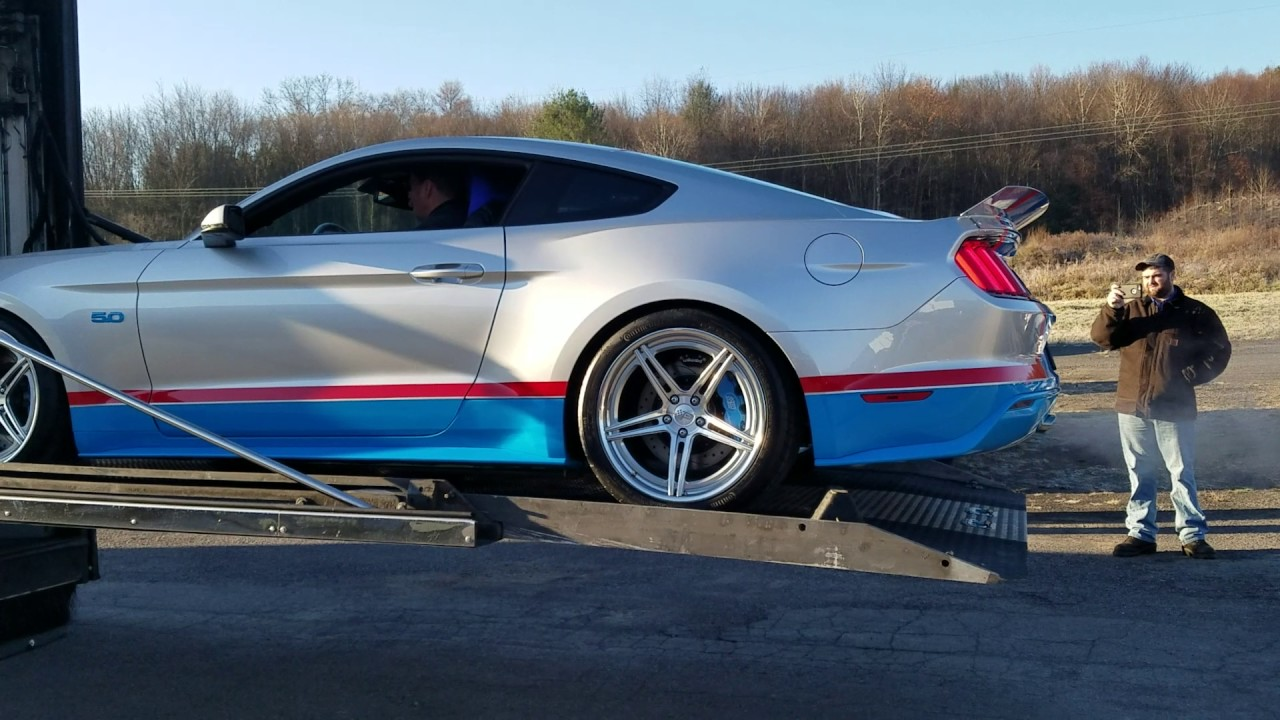 2017 Richard Petty Tribute Edition Mustang Gt