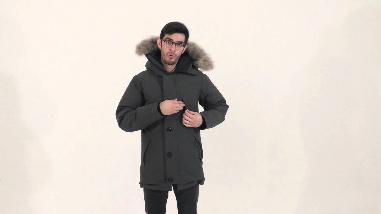 canada goose men's langford parka black
