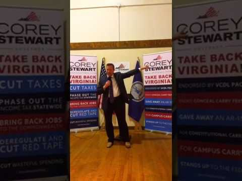 Speaking in South Boston  | Corey Stewart