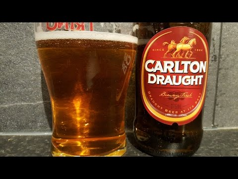 Carlton Draught Lager By Carlton & United Breweries | Australian Beer Review