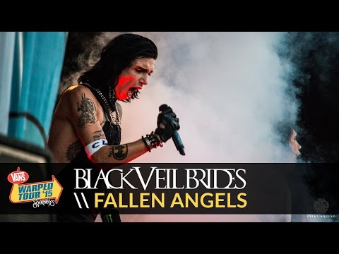 Black Veil Brides - Fallen Angels (Live 2015 Vans Warped Tour)