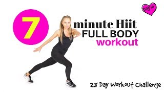 HIIT ROUTINE -HOME EXERCISE WORKOUT VIDEO - FULL BODY CARDIO HITT  - ideal as a Beginners Workout