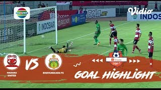 Madura United (1) vs (2) Bhayangkara FC - Goal Highlights | Shopee Liga 1