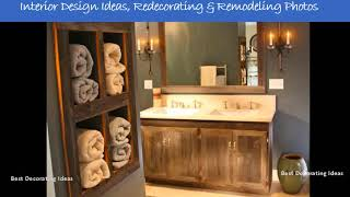 Design ideas for bathroom shelves | Best of Inspirational & Beautiful Bathrooms Pictures