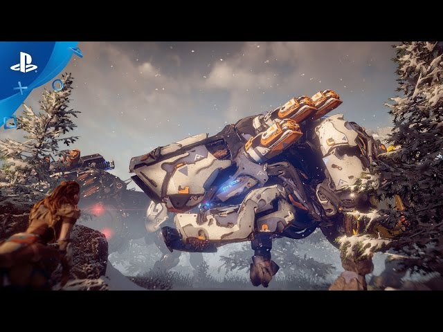 Horizon Zero Dawn - PlayStation Experience 2016: The Machines Trailer | PS4