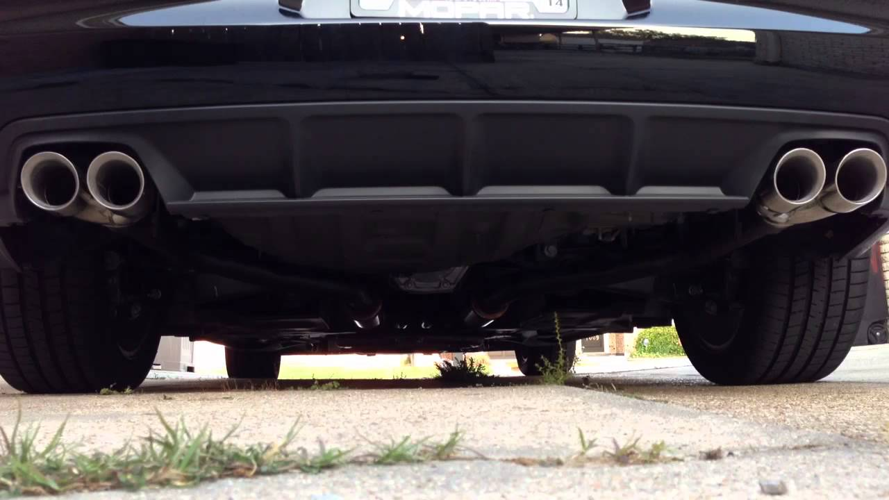2013 Charger Rt With Magnaflow Mufflers Youtube