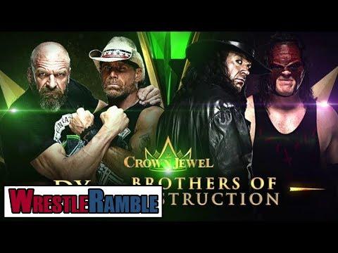 Should WWE Cancel Crown Jewel?   WrestleTalk's WrestleRamble
