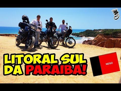 PRAIAS DO LITORAL SUL PB - COQUEIRINHO, TAMBABA E PRAIA BELA! FGS, TENERE E LANDER!!!