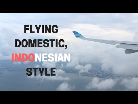 Flying Domestic, Indonesian style | Garuda Indonesia Economy Bali (DPS) to Jakarta (CGK) on the A330