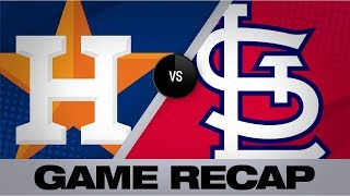 Goldy's 3-run homer lifts Cards to 5-3 win | Astros-Cardinals Game Highlights 7/26/19