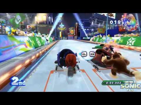 Соник и Марио Зимние Олимпийские Игры в Сочи 2014 олимпиада в сочи видео