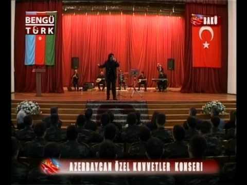Ahmet Şafak - Vay Delikanlı Gönlüm { Azerbaycan Özel Kuvvetler Konseri }