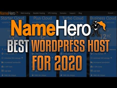 Best WordPress Web Hosting For 2020