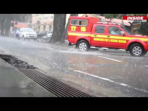 Météo : Les  fortes pluies continueront jusqu'à demain après-midi