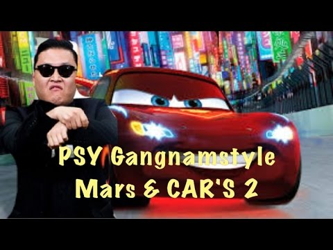 Thumbnail: Cars 2 GANGNAMSTYLE Mater's Lightning McQueen kids movie Kinderfilm ビデオ子供の 视频儿童车 1080p