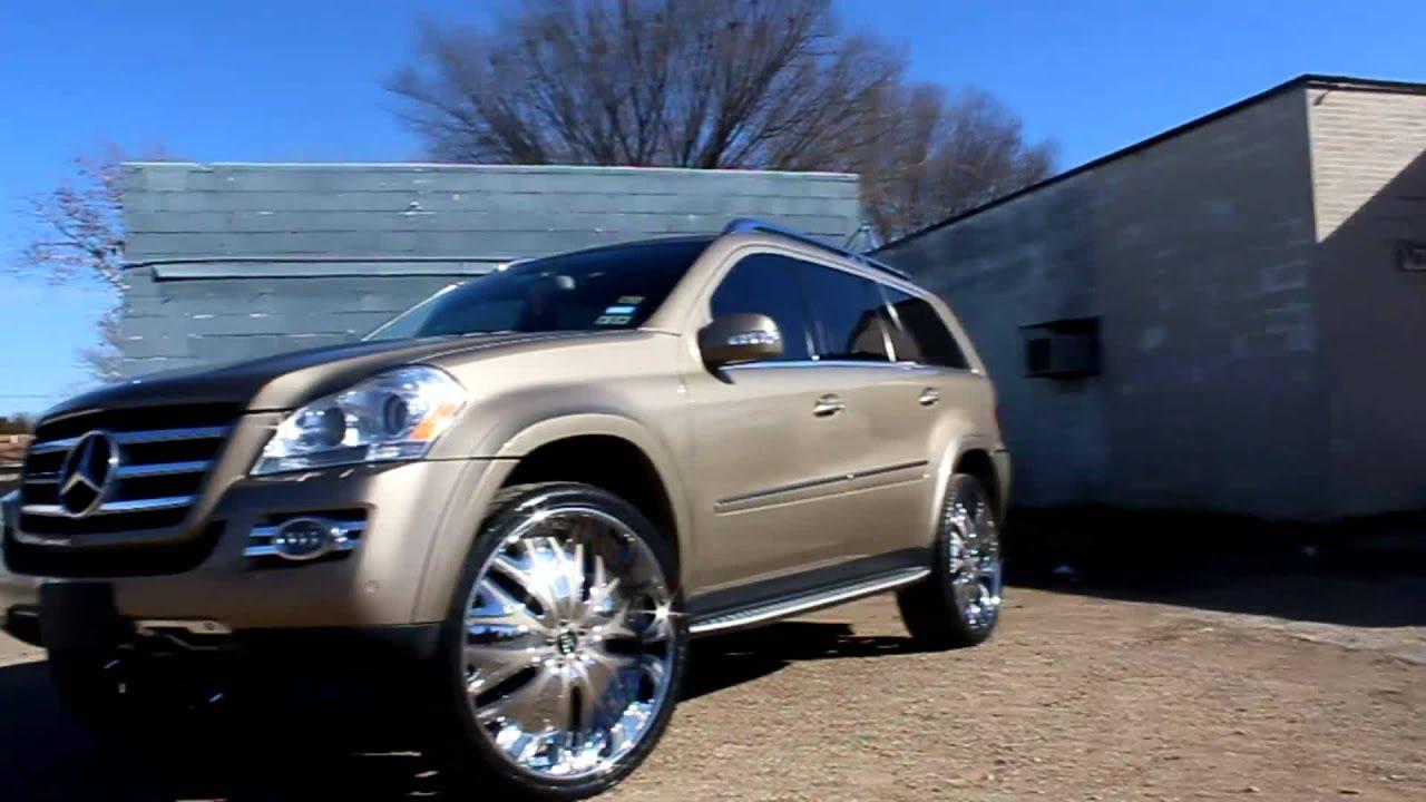 "Mercedes Benz Rims >> Mercedes GL 550 SUV on 26"" Amani Wheels - Big Boys Customs ..."