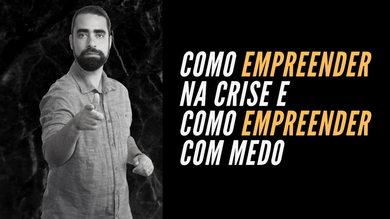 Entrevista: Como empreender na crise e como empreender com medo | Prof. Diogo Fagundes