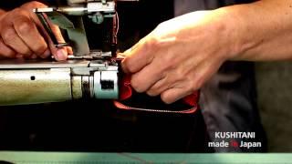 KUSHITANI 『革小物工場』 ~バイクで培われた素材とものづくり精神~
