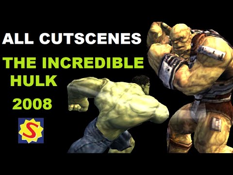 The Incredible Hulk 2008 - Full Movie / All Cutscenes