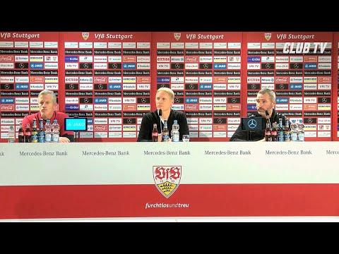 Die PK mit Tim Walter & Jens Keller | VfB Stuttgart - 1. FC Nürnberg 3:1