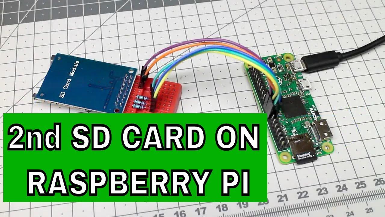 How To Add Second SD Card To Raspberry Pi Zero
