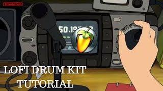 HOW TO MAKE LOFI DRUM KITS IN FL STUDIO 12 (DRUM PROCESSING)