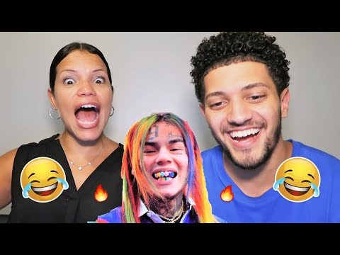 Mom Reacts To EVERY 6IX9INE SONG! *HILARIOUS*...she doesn't know who he is...