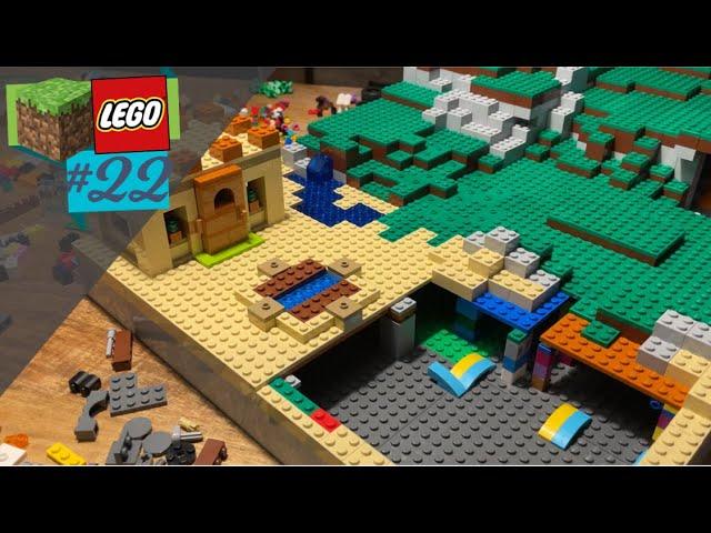 LEGO® X Minecraft World #22 - Haus und Beet, es wird heimisch