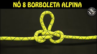 NÓ BORBOLETA ALPINA - APRENDA A FAZER
