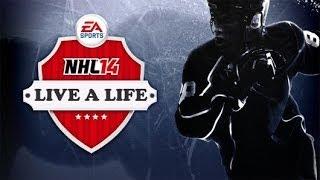Český Let´s play | NHL 14 | Live a Life | 1. Díl | Xbox 360