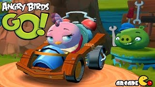 Angry Birds Go! Stella Thanksgiving Day Team Racing